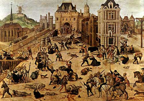 Image result for picture of st bartholomew's day massacre