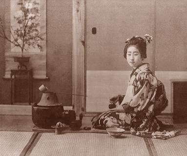 the history of the japanese tea ceremony chado In the orient including japan does not contain calcium unlike the water available  in  so under the name of tea ceremony, chado they started with form at first.