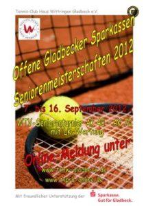 Gladbecker Sparkassen Seniorenmeisterschaft 2012