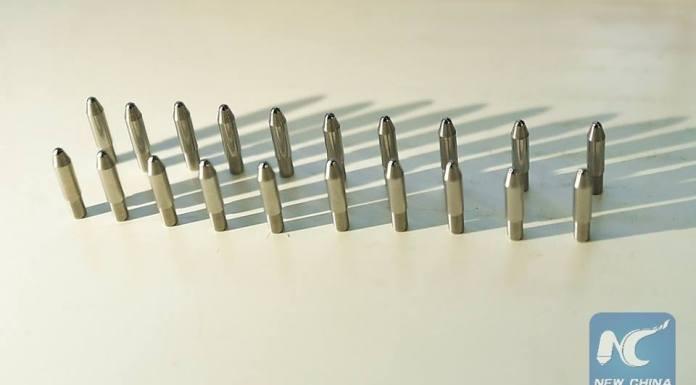 จีนพัฒนาส่วนปลายปากกาได้เองแล้ว พร้อมเดินหน้าผลิตเป็นจำนวนมาก