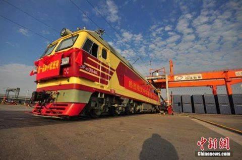 ซินเจียงเตรียมเดินรถไฟ 400 ขบวนไปยุโรป