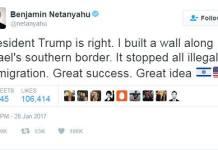 เม็กซิโกไม่ยอม! เนทันยาฮูควรออกมาขอโทษที่ทวิตชื่นชมการสร้างกำแพง