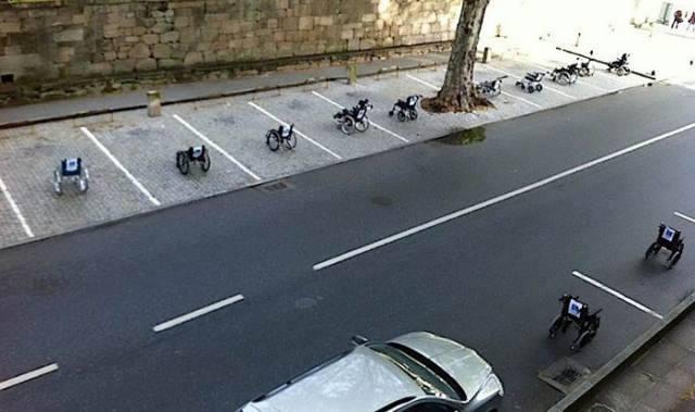 เป็นเรื่อง!ใครแอบจอดรถของคนพิการโดนแน่
