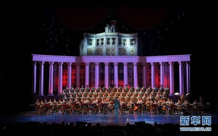 วงดนตรีกองทัพรัสเซียเริ่มบรรเลงอีกครั้งหลังเหตุเครื่องบินตกเมื่อสิ้นปีที่ผ่านมา
