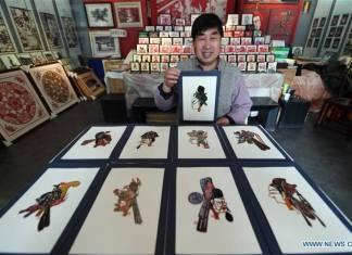 ศิลปะการตัดกระดาษกานซู่ มรดกล้ำค่าของจีน