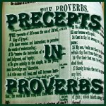 Precepts in Proverbs