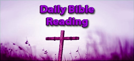 Daily Bible Reading March