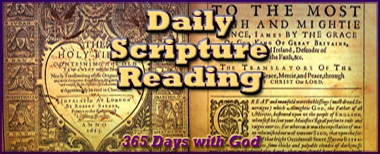 Daily Scripture Reading 2020 Notice – Please Read