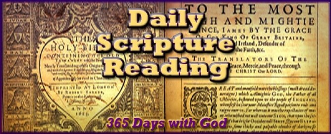 Daily Bible Reading 2018
