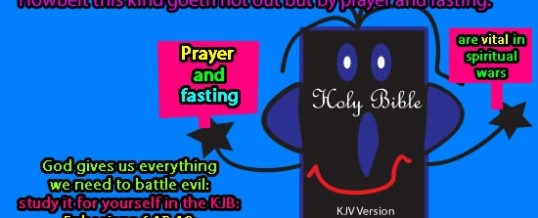 Destroy Evil by Prayer and Fasting