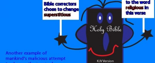Are You Religious or Superstitious?