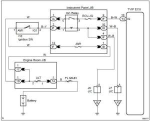 Toyota Corolla Repair Manual: Circuit description