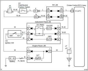 Toyota Corolla Repair Manual: Circuit description  Parkneutral position switch circuit