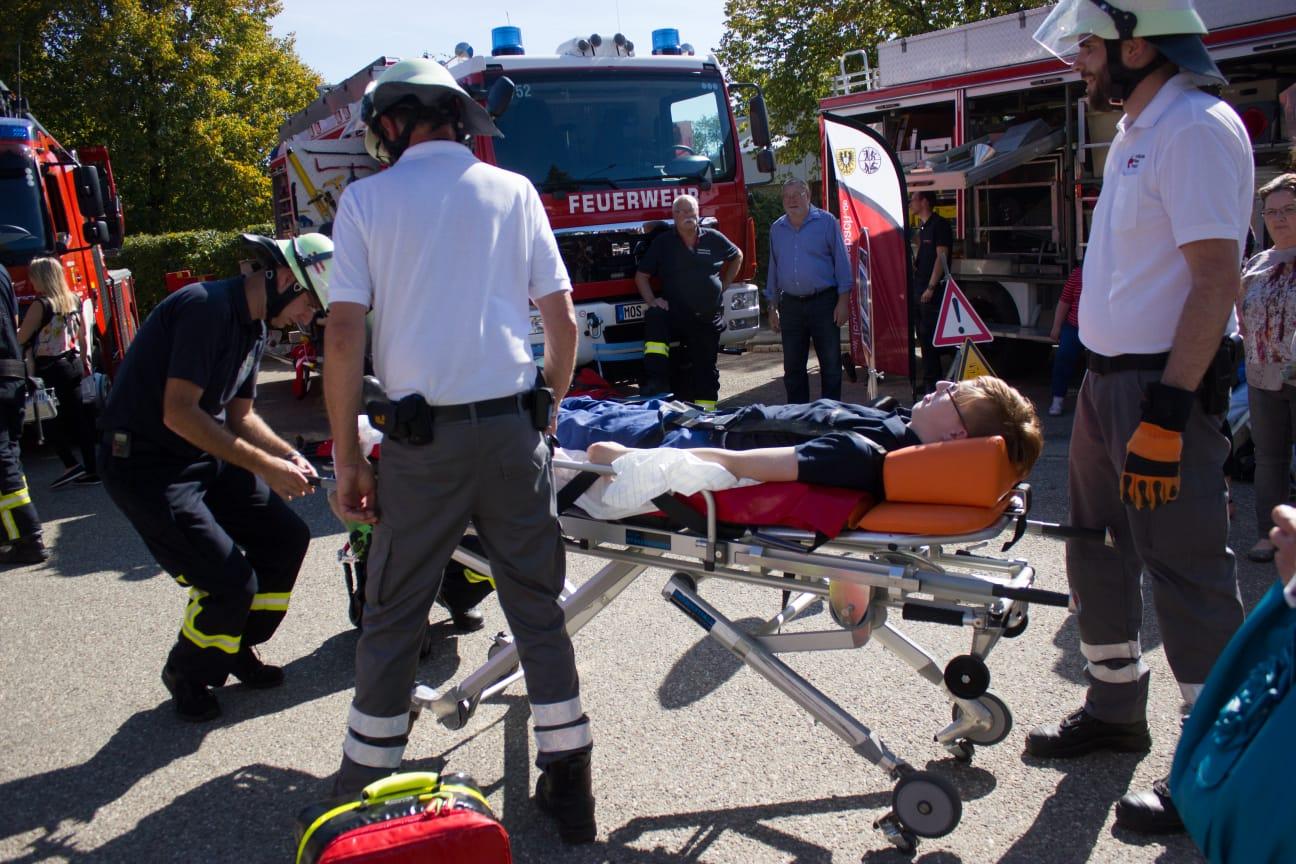 Grossübung: Massenanfall von Verletzten