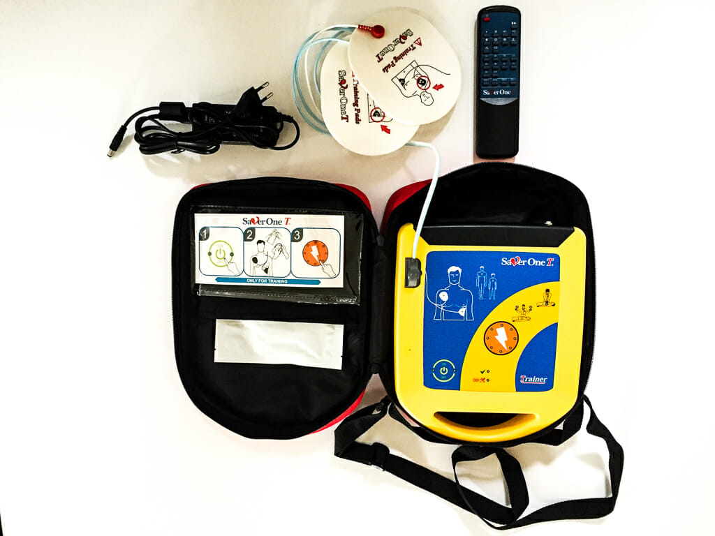 Laien-Defibrillator (AED)