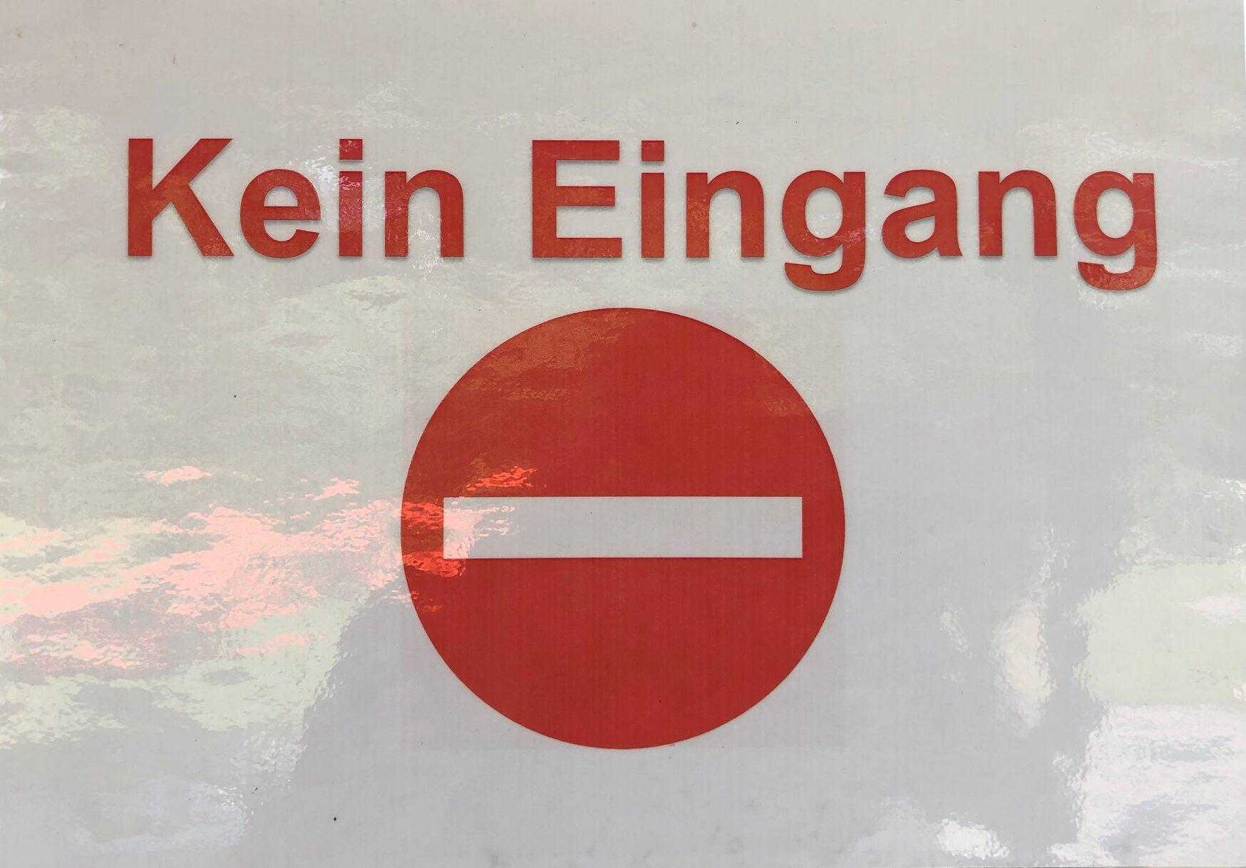 TCRH Mosbach Pandemie-Maßnahmen: Verkehrsführung und Besucherleitsystem