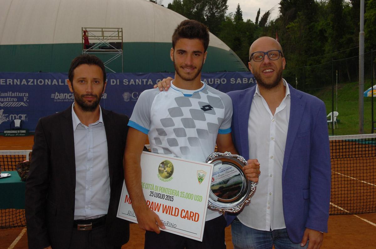Andrea Pellegrino trionfa a Santa Croce