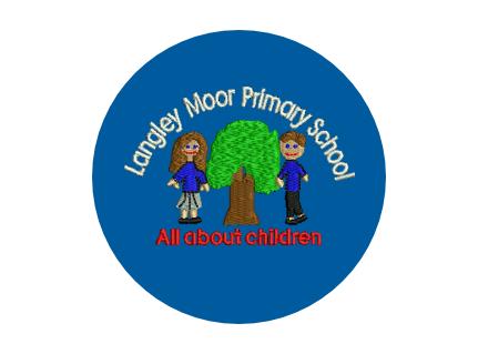 Langley Moor Primary School logo
