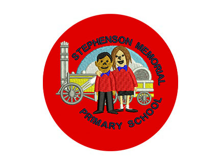 Stephenson Memorial Primary School logo