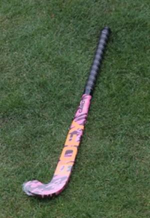 Rofy Hockey Stick Junior Camo Pink