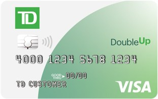 TD Bank Double Up Card