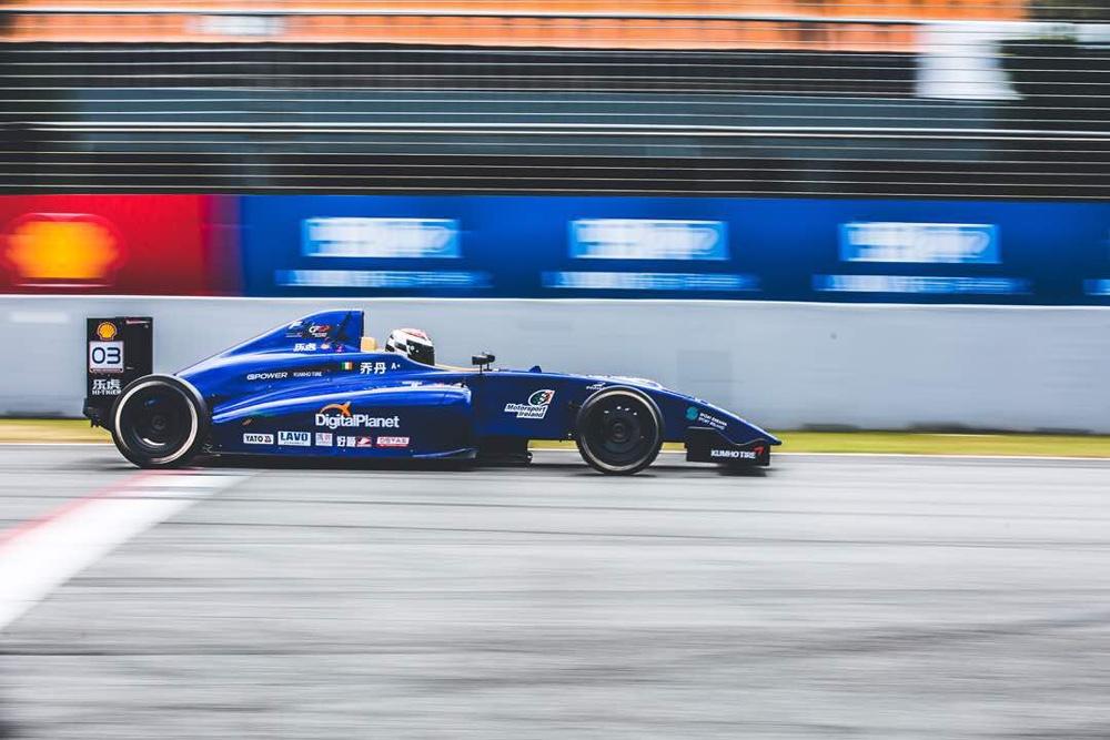 Jordan's first weekend with Pinnacle Motorsport has been a huge success