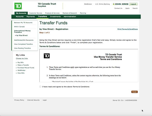 Td Bank Online Banking Login Us