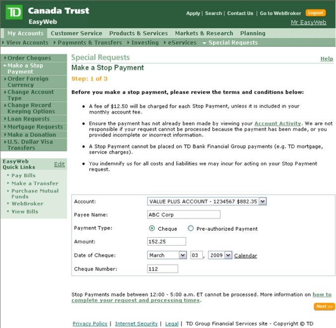 Td Bank Online Personal Banking