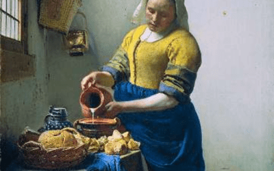 """Vidéo """"La Comédie des Arts"""" n°3 – La Laitière de Vermeer"""