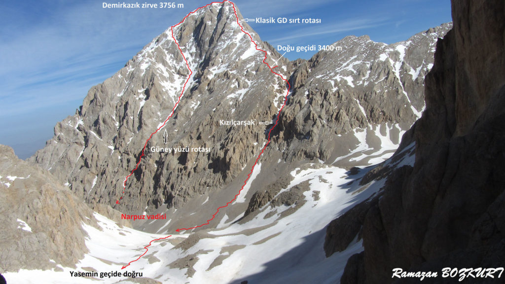 Büyük Demirkazık Dağı Zirvesi