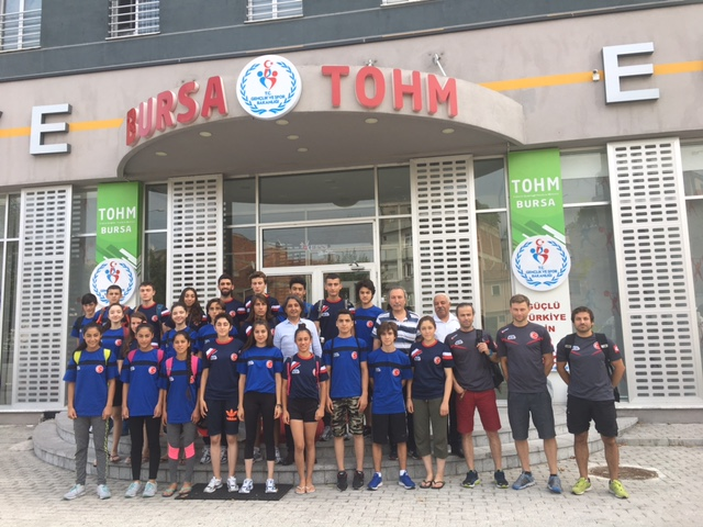Spor Tırmanış U18 Milli Takım Kampı Bursa'da devam etmektedir.