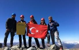 KTÜDAKS tarafından Verçenik Dağı zirve tırmanışı gerçekleştirildi.