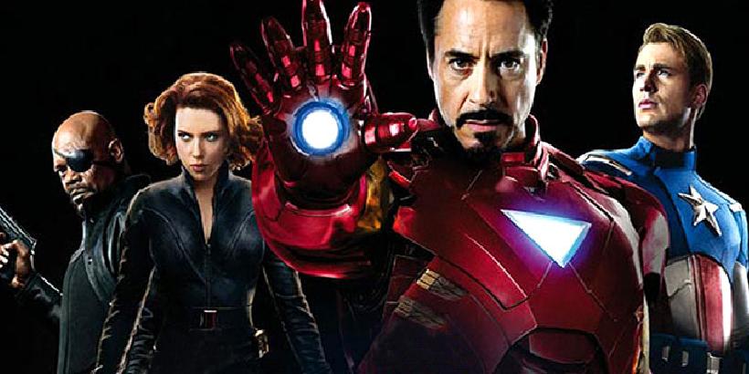 Primele Postere Stilizate Cu Hawkeye Si Black Widow Din The Avengers