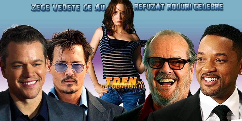 tdfn-ro-top-zece-actori-celebri-ce-au refuzat-un-rol-intr-un-film-legendar