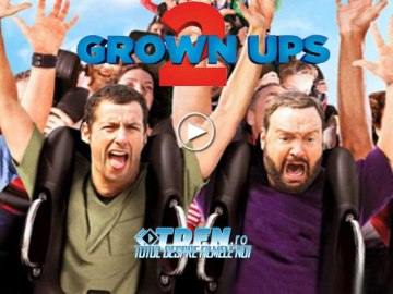 Primul Trailer Pentru Comedia GROWN UPS 2 Cu Adam Sandler,Kevin James,Chris Rock Şi Salma Hayek