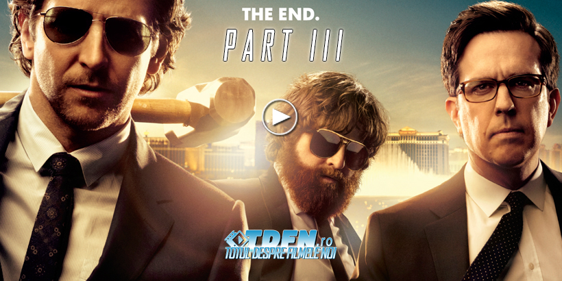 THE HANGOVER PART III: Spot TV Nou Cu John Goodman, Heather Graham Şi Poster Nou Cu O Girafă