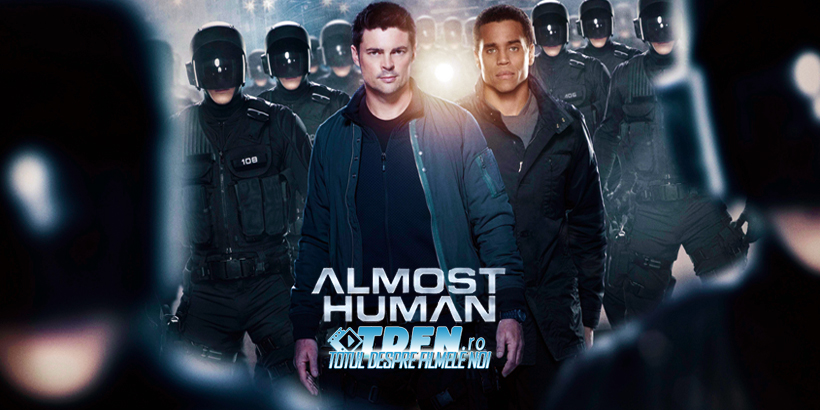 Primul Trailer Pentru Noul Serial SF Creat De JJ Abrams: ALMOST HUMAN