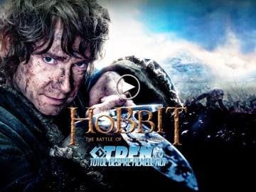 În Primul Clip Din HOBBITUL: BĂTĂLIA CELOR CINCI OŞTIRI, Bilbo Preia Iniţiativa