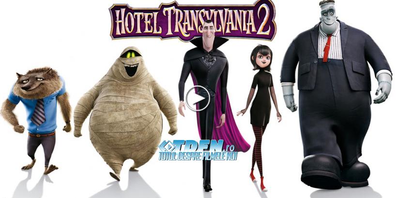 Trailer Nou HOTEL TRANSYLVANIA 2: Situații Comice Cu Monştrii Lui Dracula Şi Familia Sa
