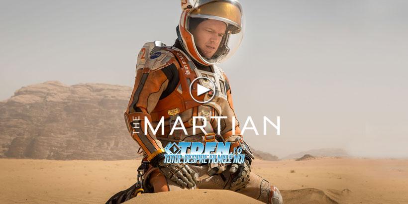 THE MARTIAN: Noul Trailer Extins, Dezvăluie Viaţa Izolată Pe Marte A Lui MATT DAMON