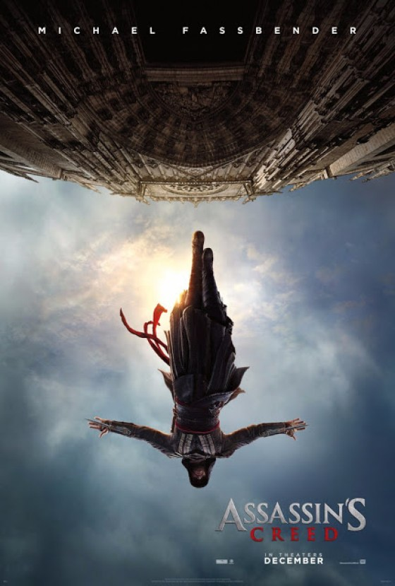 Primu Poster Oficial ASSASSIN'S CREED cu Michael Fassbender