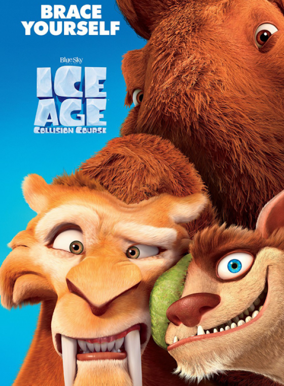 POSTER ICE AGE 5: COLLISION COURSE