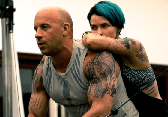 Vin Diesel şi Ruby Rose în xXx: Return Of Xander Cage