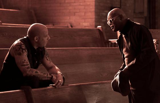 Vin Diesel şi Samuel L. Jackson în xXx: Return Of Xander Cage