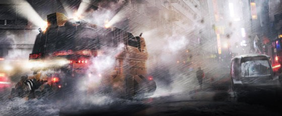 Imagine concept pentru Blade Runner 2
