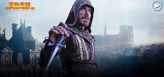 Michael Fassbender în cel mai recent trailer pentru adaptarea Assassin's Creed