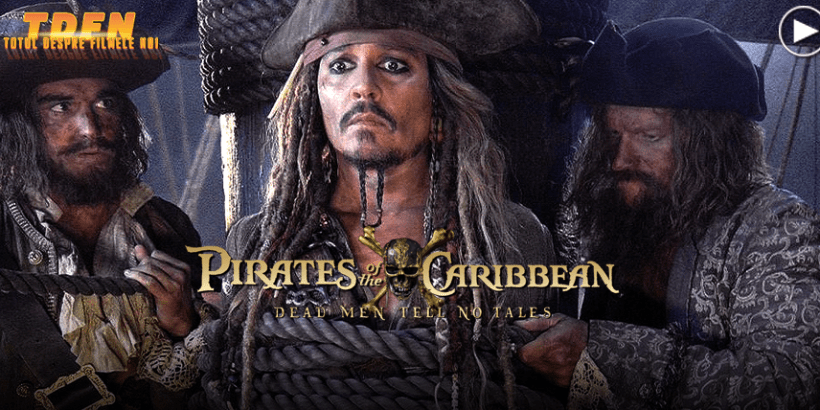Pirates Of The Caribbean 5: Dead Men Tell No Tales Trailer