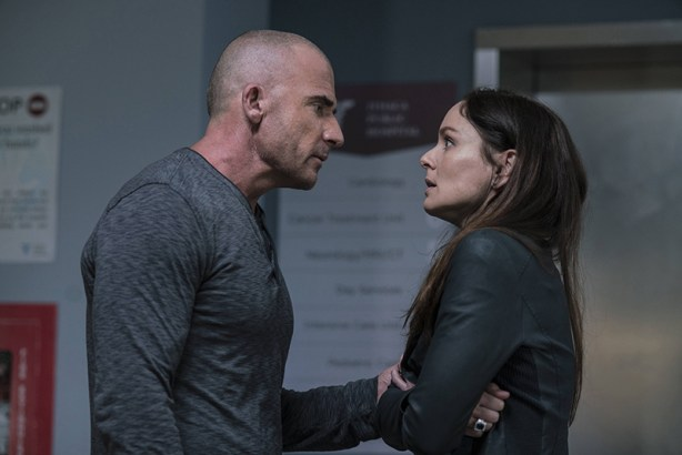 Prison Break Sezonul 5: Dominic Purcell, Sarah Wayne Calles