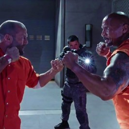 The Fate Of The Furious: Jason Statham vs Dwayne Johnson