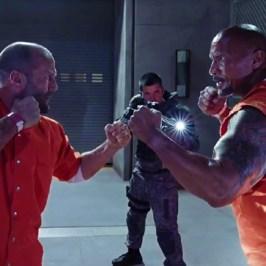 The Fate Of The Furious: Jason Statham vs Dwayne Johnson